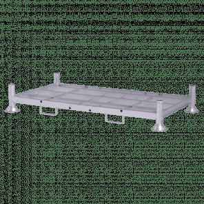 Stapelrek stapelrack - 185x100.5x31 cm - draagvermogen 2000 kg - SRP-104