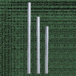 Rong pijp 100 cm - gegalvaniseerd - SRP-001