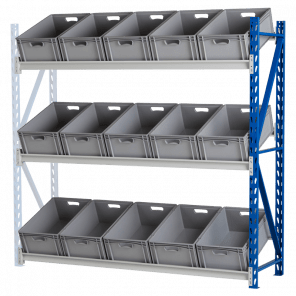 Bakkenstelling grootvakstelling aanbouwmodel 200x202x60 cm - GSP-104