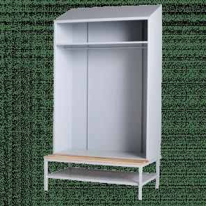 Lockerkast met hanggedeelte - 219x117,5x74,5 cm - LKP-704