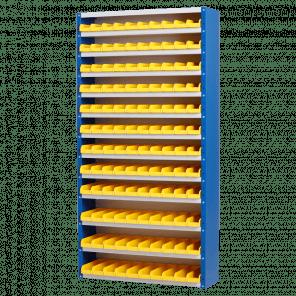 Magazijnkast - 120 bakken - 198x100x30 cm - OMP-506