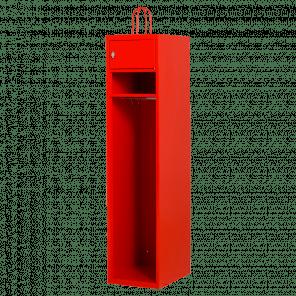 Brandweerkast locker - 1-delig - 195x40x55 cm - LKP-801