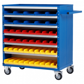 Werkplaatskar - 92 bakken - 126x100x60 cm - OMP-612