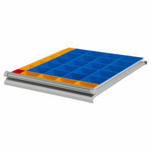 Inzetbak module 30 bakken - werkbank laden - PWP-039